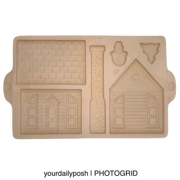 The Pampered Chef Other - Pampered Chef gingerbread house cookie mold pan